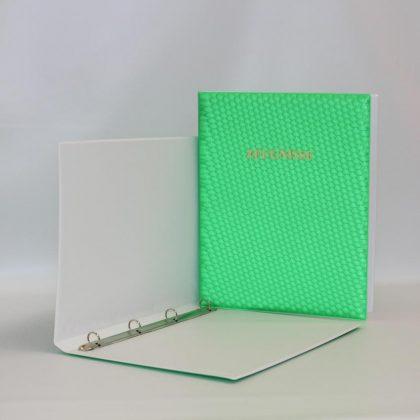 ZMRB 3D grün offen - Goldprägung