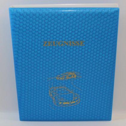 Zeugnismappe als Ringbuch A4
