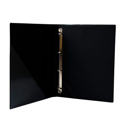Kondolenz-Ringbuch A4 innen schwarz