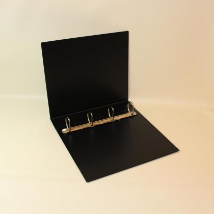 Ringbuch A4 - 4D40 schwarzz