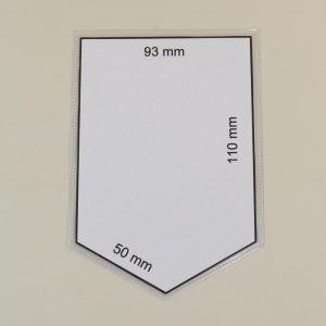Wimpelhüllen 99x142mm