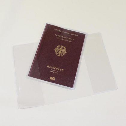 Reisepasshüllen transparent