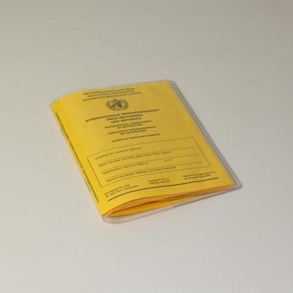 Impfausweishüllen 20 x 13,7 cm mit 5 cm Einsteckfach