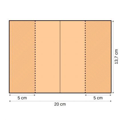 Impfausweishüllen 20 x 13,8 cm 5 cm Einsteckfach
