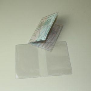 Kfz-Schein-Hülle transparent 2-teilig 16,4 x 12 cm